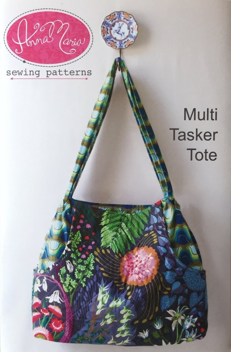 Anna Maria Sewing Patterns - Multi Tasker Tote