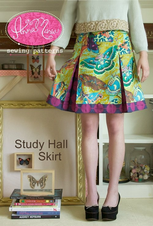 Anna Maria Sewing Patterns - Study Hall Skirt