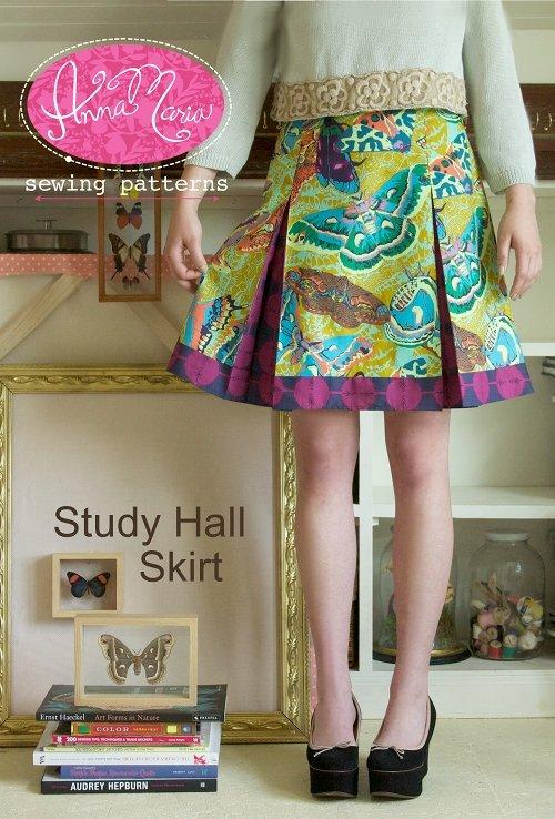 Anna Maria Sewing Patterns - Study Hall Skirt