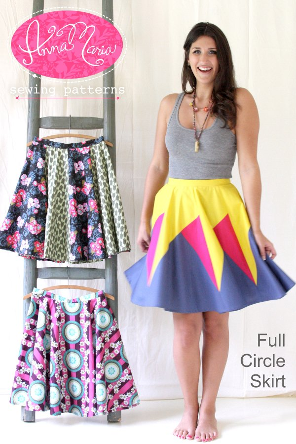 Anna Maria Sewing Patterns - Full Circle Skirt