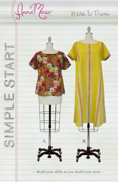 Anna Maria Simple Start Sewing Patterns - Here & There
