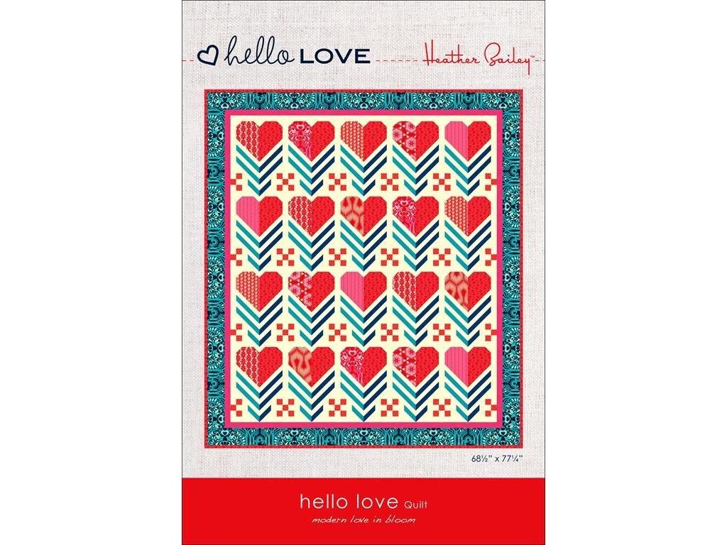Heather Bailey - Hello Love Quilt