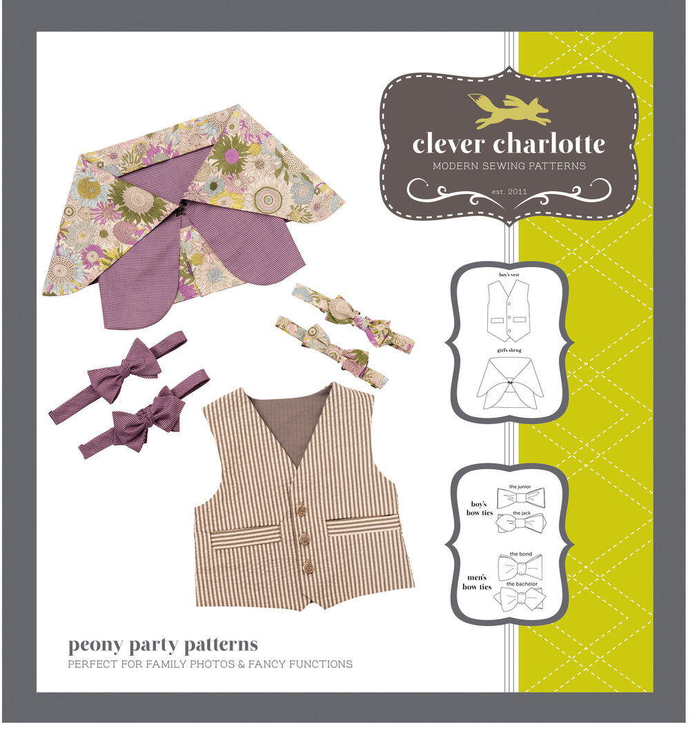 Clever Charlotte - Peony Party Patterns