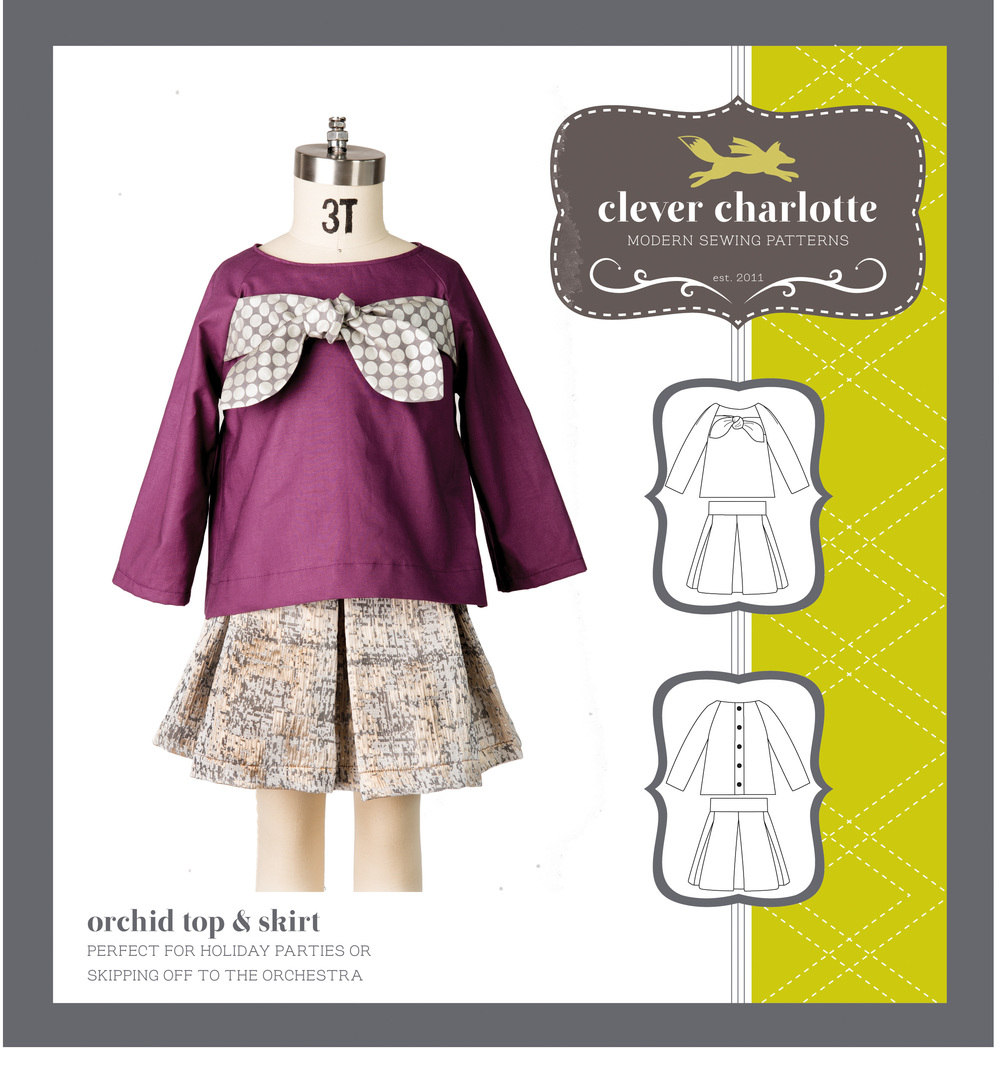 Clever Charlotte - Orchid Top & Skirt