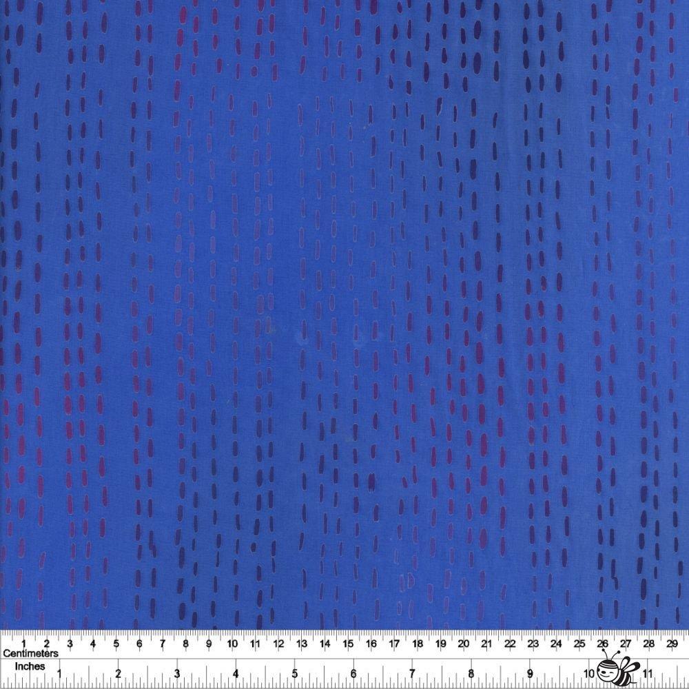 Stitched - Running Stitch - Cobalt