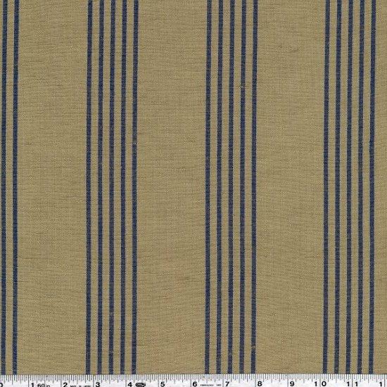 Toweling - Linen Closet - Blue on Natural
