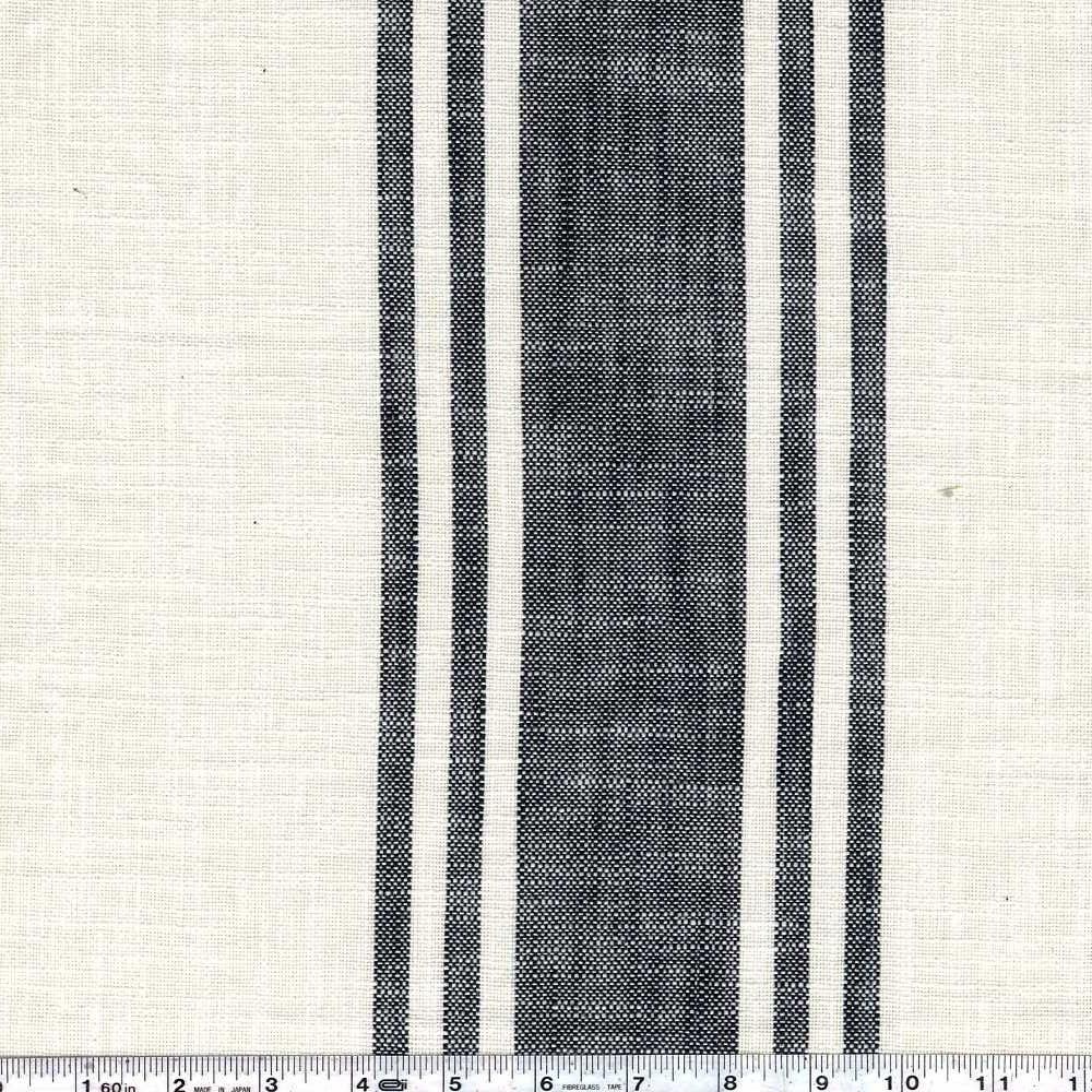 Toweling - Urban Cottage - Ivory & Black