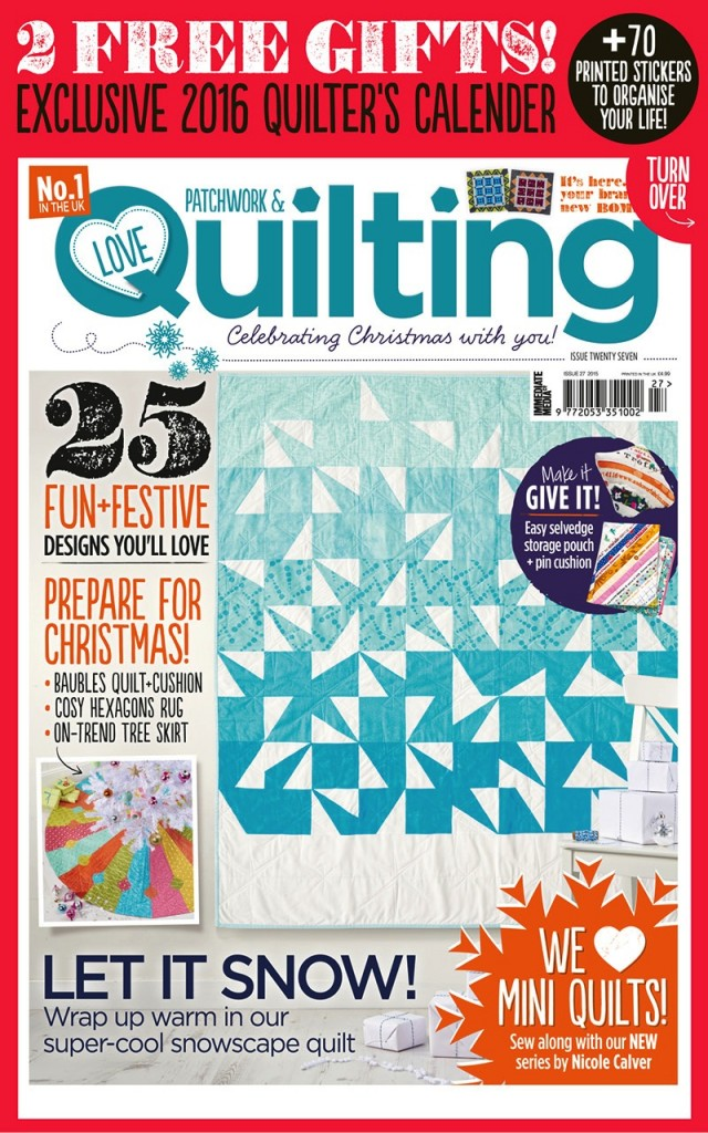 Love Patchwork & Quilting - Issue 27