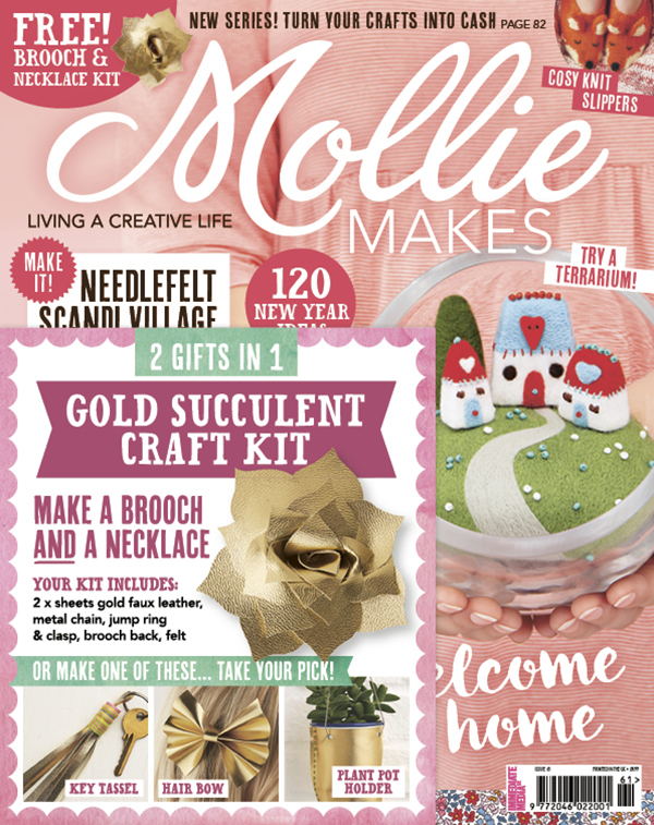 Mollie Makes - Issue 61