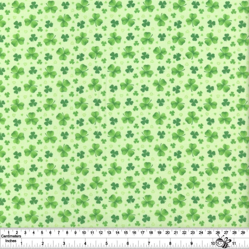 Pot of Gold - Tossed Clover - Green