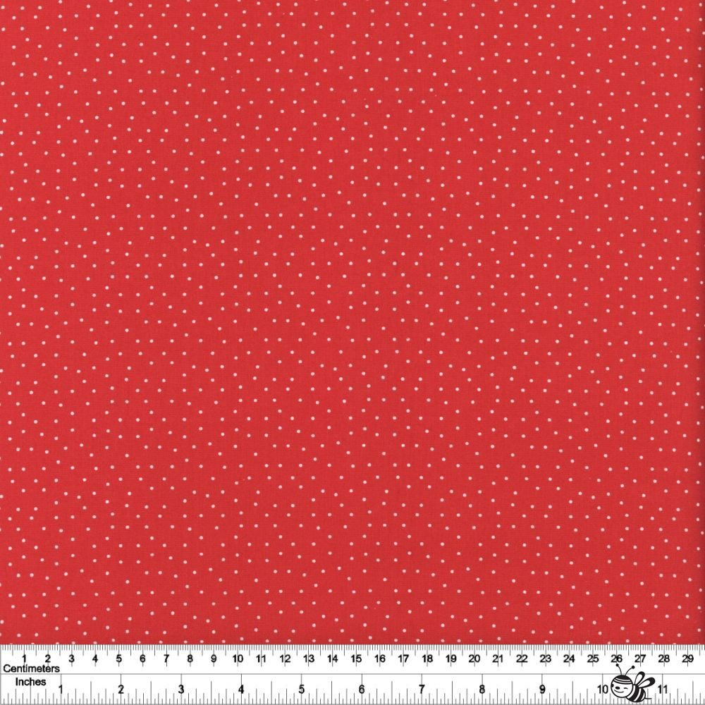 Strawberry Jam - Dainty Dots - Red