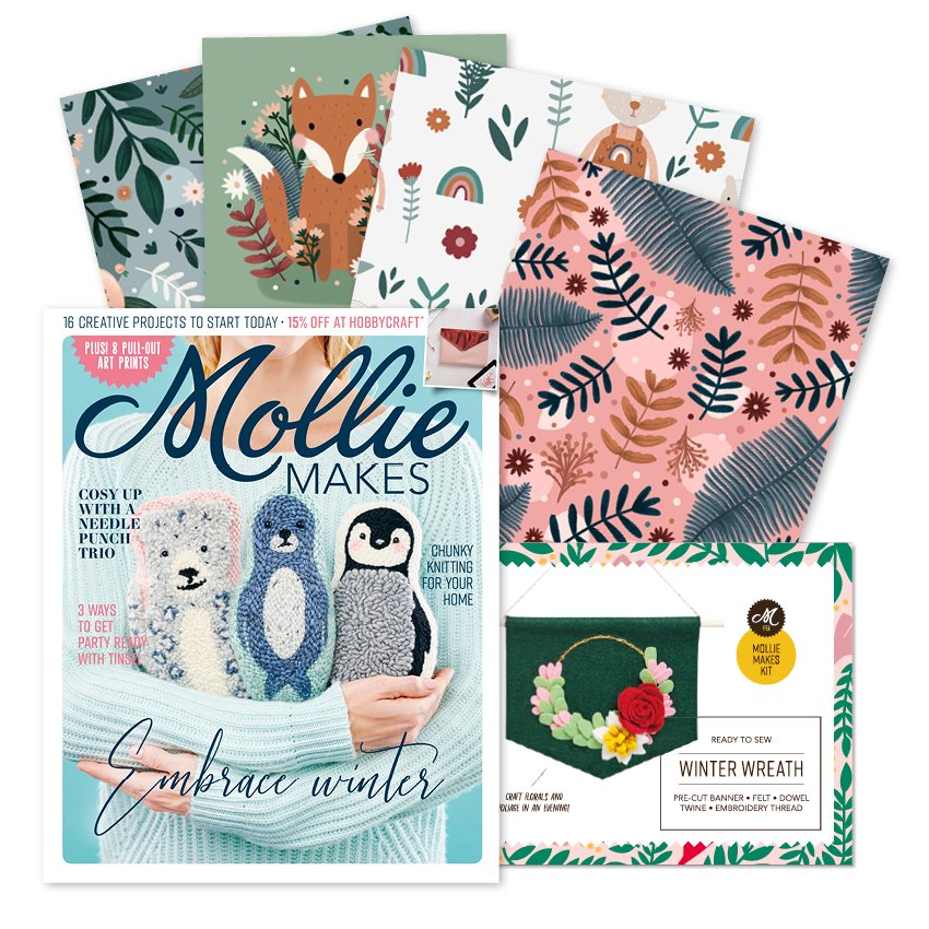 Mollie Makes - Issue 113