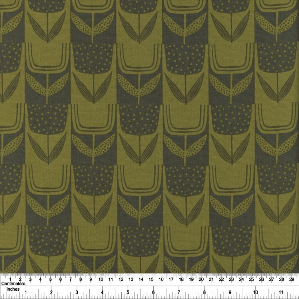 Perennial - Patchwork Tulips - Olive