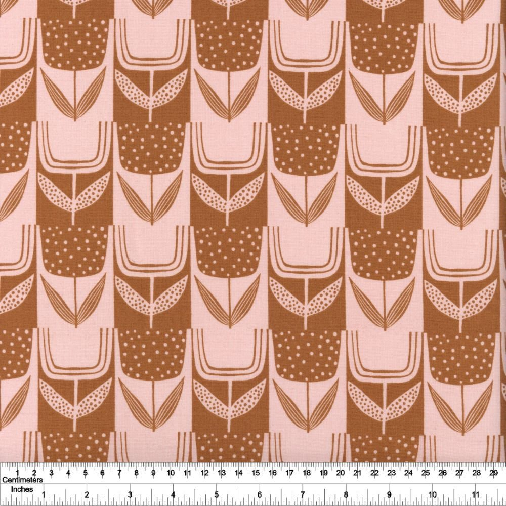 Perennial - Patchwork Tulips - Brick