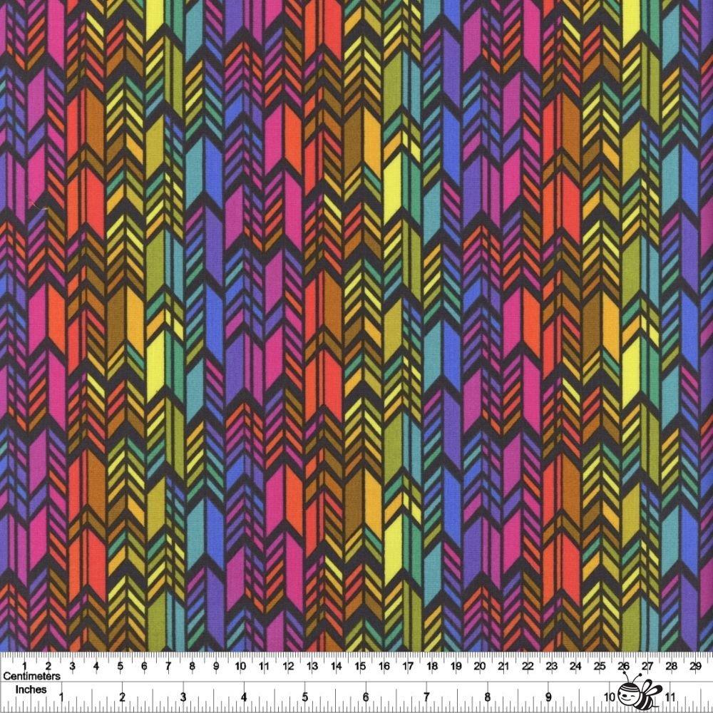 Art Theory - Spectrum Feathers - Night