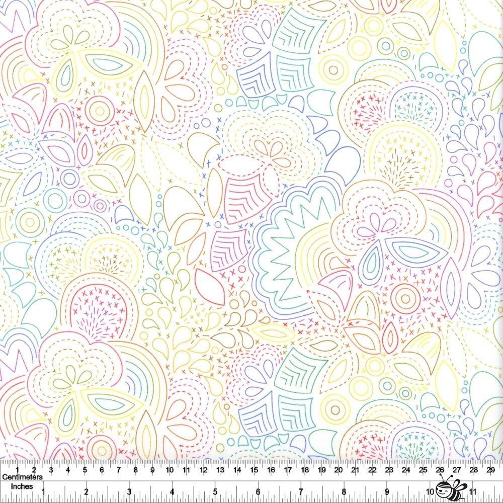 Art Theory - Rainbow Stitched - Day