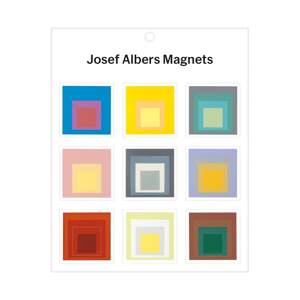 Josef Albers Magnets