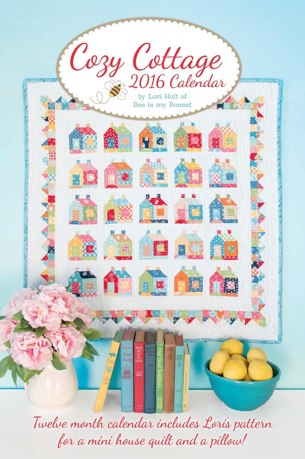 2016 Calendar - Cozy Cottage by Lori Holt