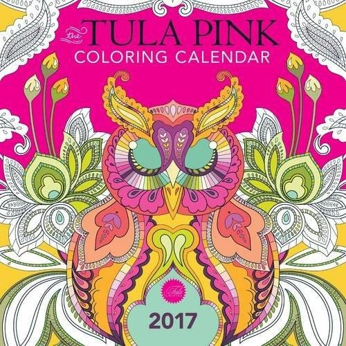 Tula Pink Coloring Calendar