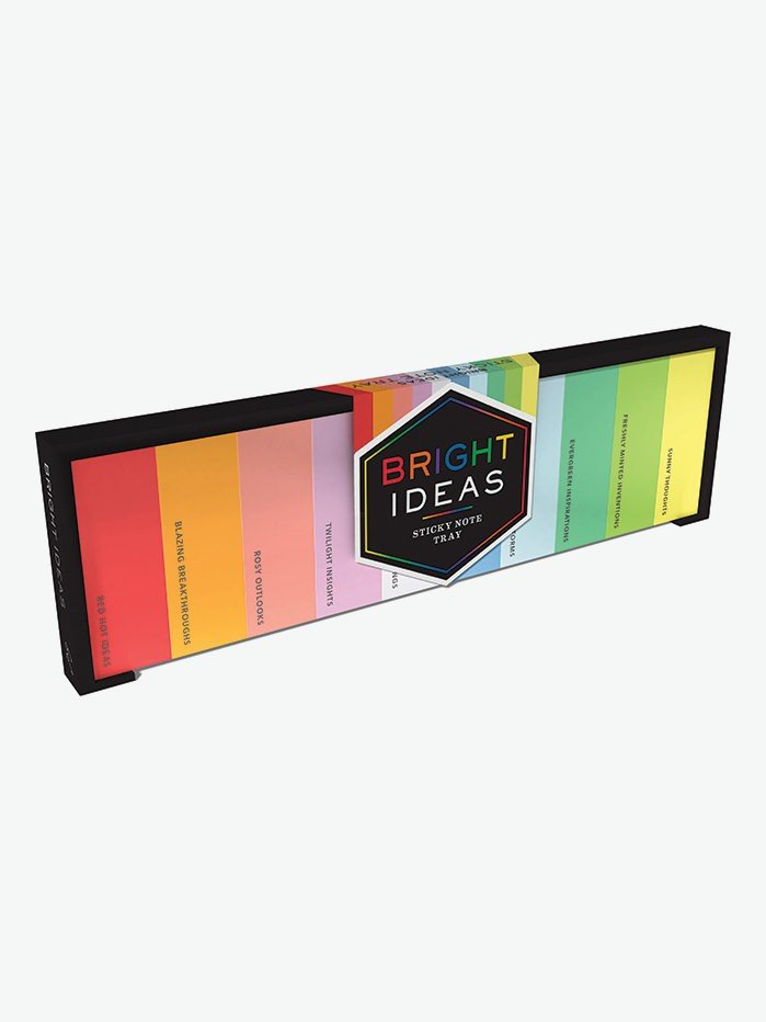 Bright Ideas Sticky Note Tray