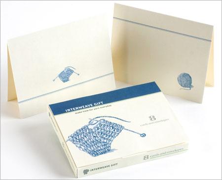 Note Cards - Yarn Motif