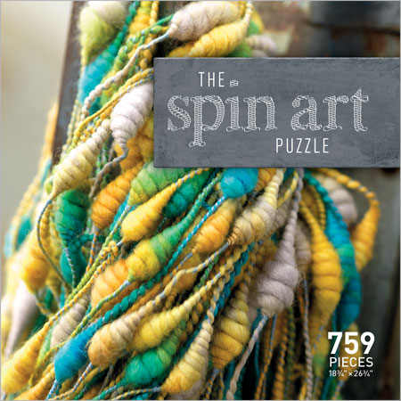 The Spin Art Puzzle