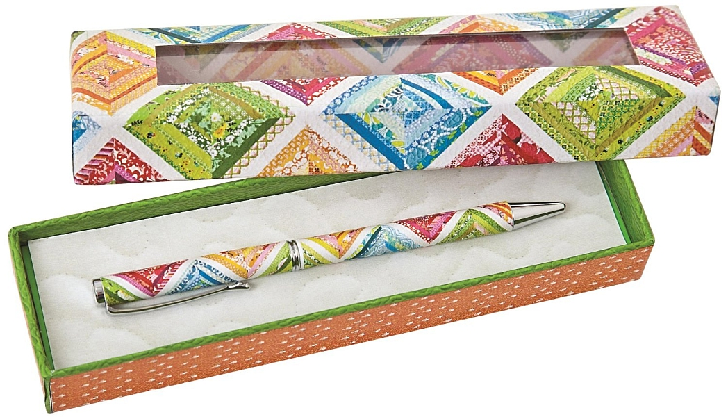 Elizabeth's Patchwork Quilt Gift Pen