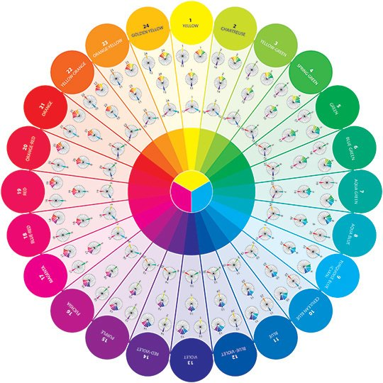Essential Color Wheel