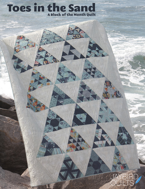 Jaybird Quilts - Toes in the Sand BOM