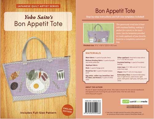 Yoko Saito - Bon Appetit Tote