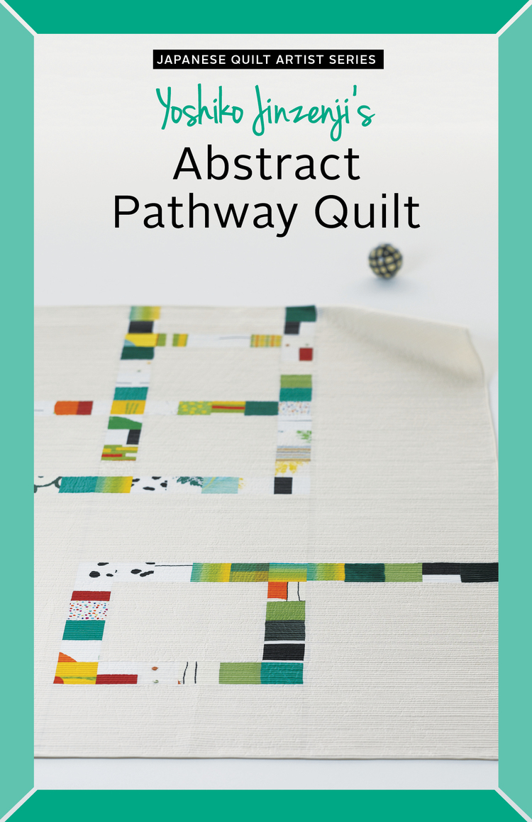 Yoshiko Jinzenji - Abstract Pathway Quilt