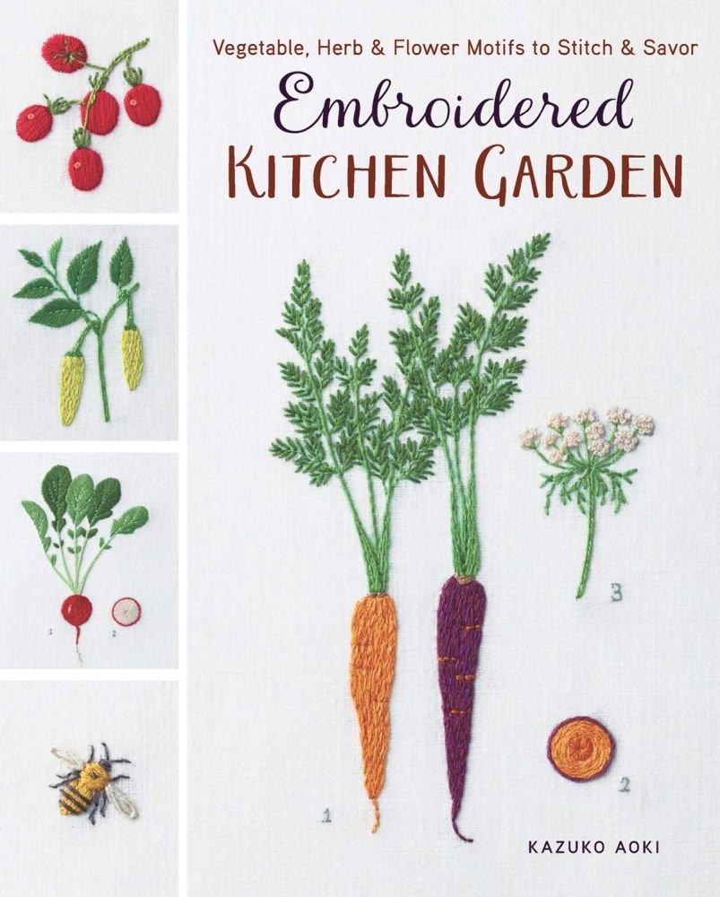 Embroidered Kitchen Garden