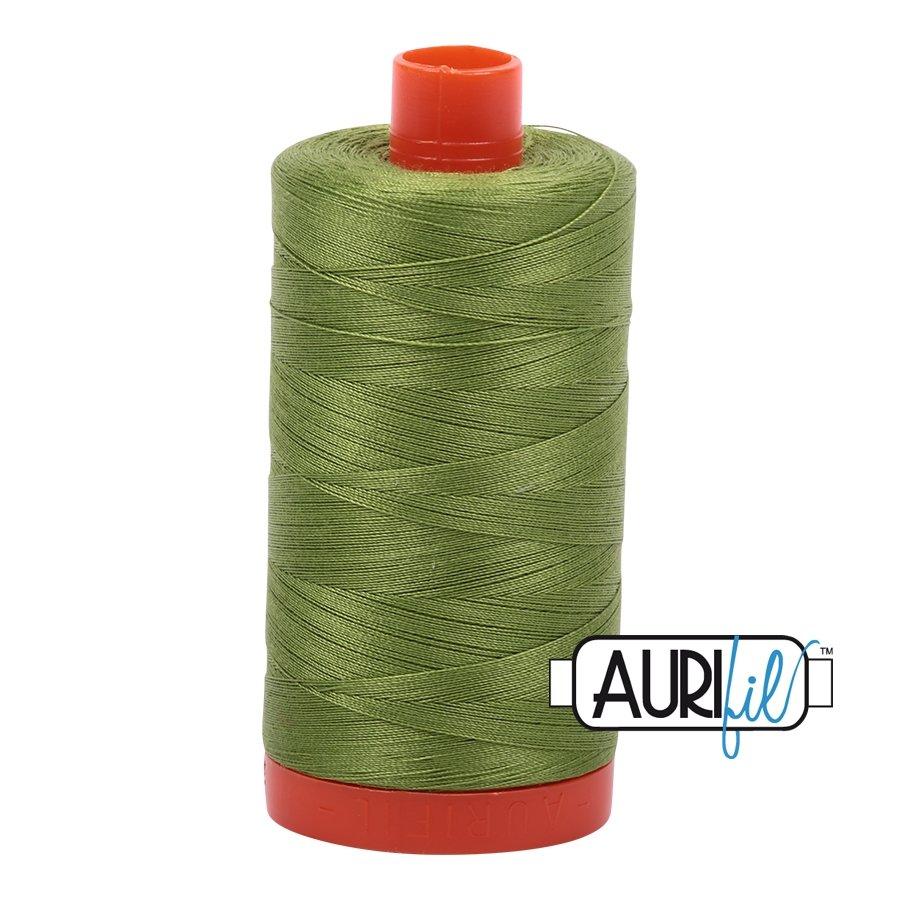 AURIfil Thread - 50wt 100% Cotton Mako Thread - Fern Green #2888