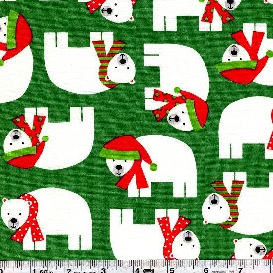 Jingle - Polar Bears - Green