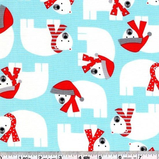 Jingle - Polar Bears - Aqua