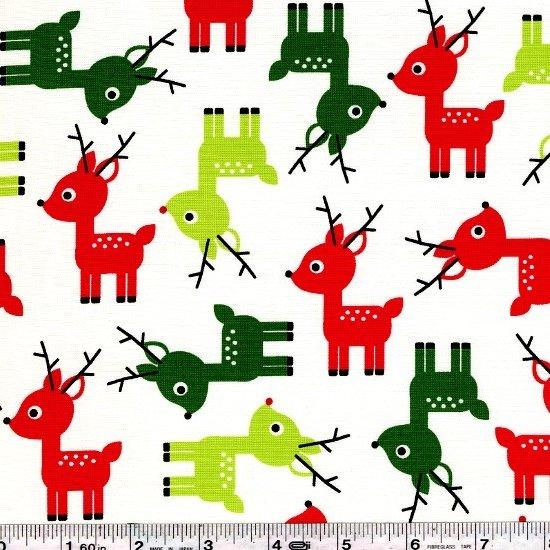 Jingle - Reindeer - White