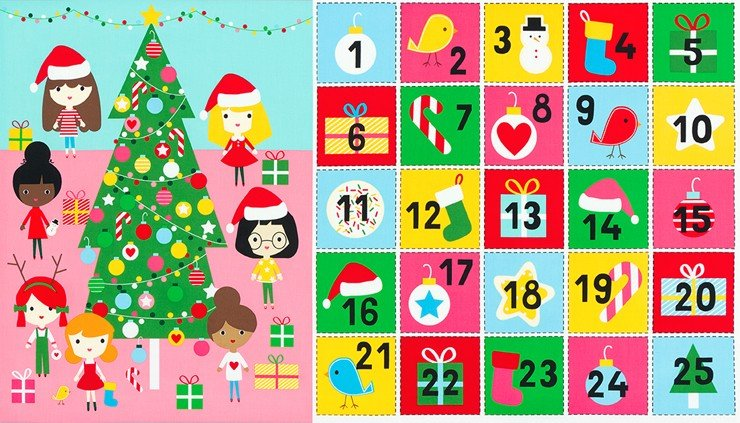 Girl Friends Holiday Party - Advent Calendar