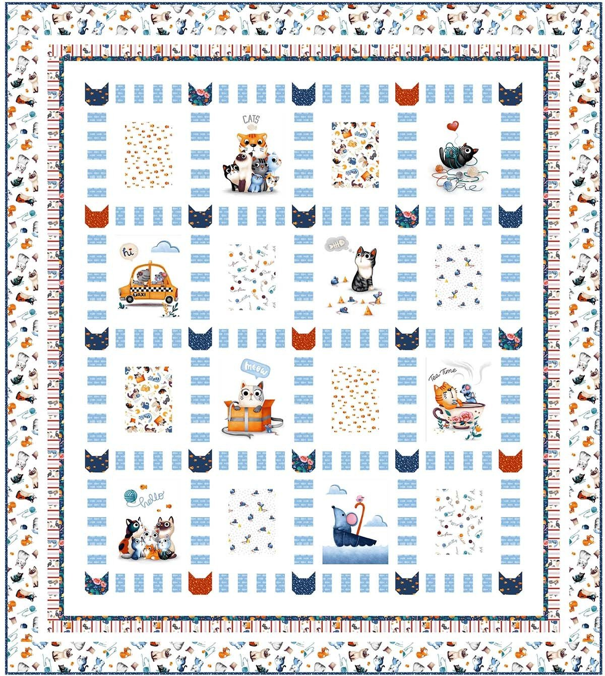 A Cat's Life - PDF Pattern