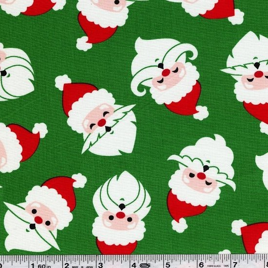 Merry Mustaches - Green