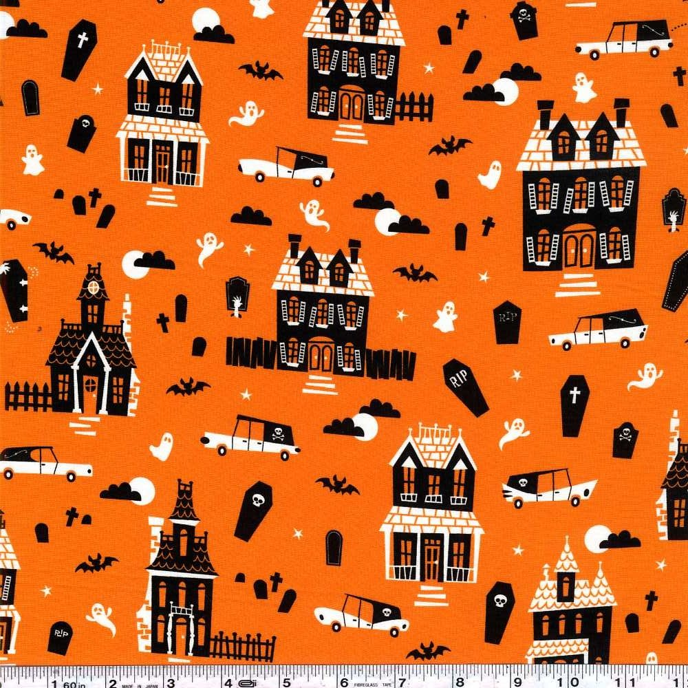 Eerie Alley - Haunted House - Orange