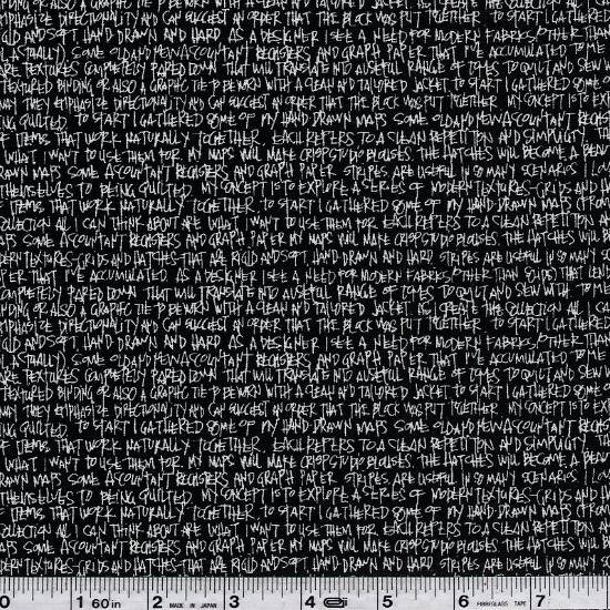 Architextures - Text - Black
