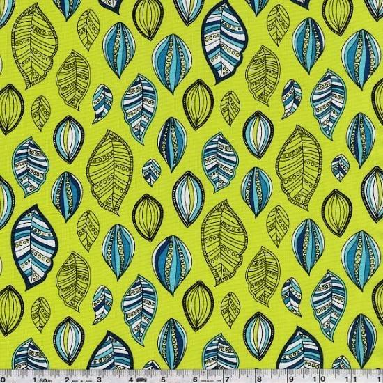 Modern Bliss - Leaf Scatter - Caribbean