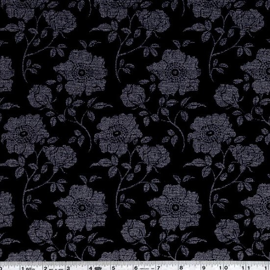 Shimmer 2 - Trailing Flowers - Stone