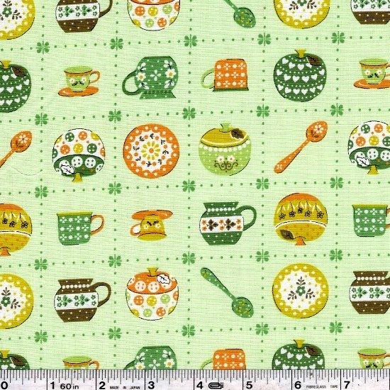 Vintage Kitchen - Green