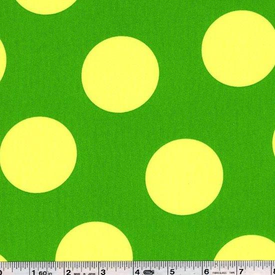 Giant Neon Dot - Green & Yellow