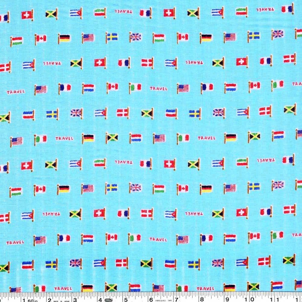Global Citizen Gauze - Blue