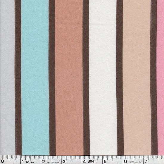Big Stripe Flannel - Neapolitan
