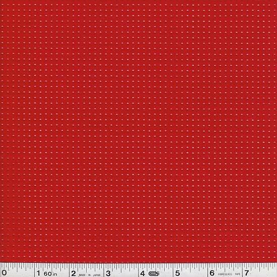 Punching Felt - Pindot - Red