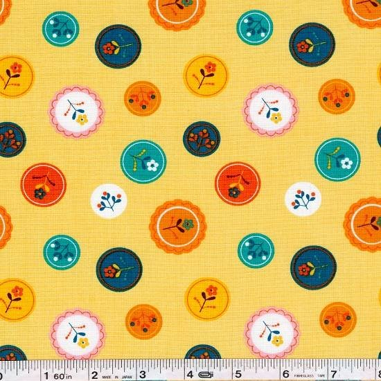 Little Kukla - Flower Medallion - Retro
