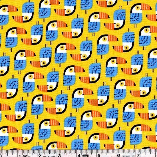 Little Señoritas - Toucan - Yellow